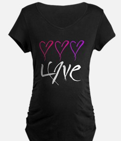 Lots of Love Dark T's T-Shirt
