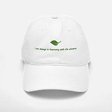 I am always in harmony with t Baseball Baseball Cap