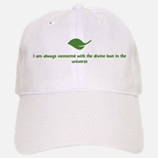 I am always connected with th Baseball Baseball Cap