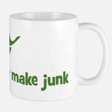 God does not make junk (leaf) Mug