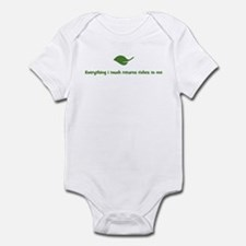 Everything i touch returns ri Infant Bodysuit