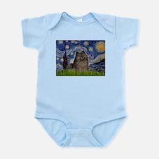 Starry Night /Pomeranian(bndl ) Infant Bodysuit