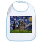 Starry Night /Pomeranian(bndl ) Bib