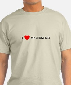 chow mix T-Shirt