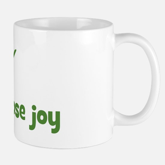 Today i choose joy (leaf) Mug