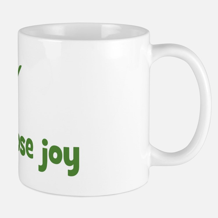 Today i choose joy (leaf) Mug