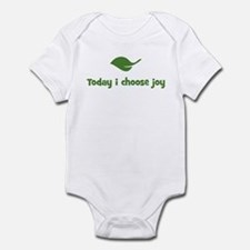 Today i choose joy (leaf) Infant Bodysuit