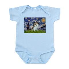 Starry Night /Pomeranian (p) Infant Bodysuit