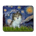 Starry Night /Pomeranian (p) Mousepad