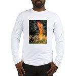Fairies / Pomeranian (b&t) Long Sleeve T-Shirt
