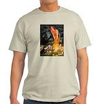 Fairies / Pomeranian (b&t) Light T-Shirt