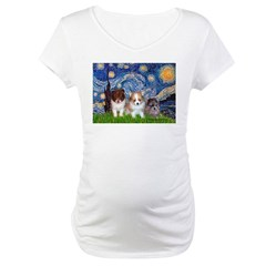 Starry Night /Pomeranian pups Shirt
