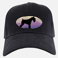 Purple Mt. Mini Schnauzer Baseball Hat