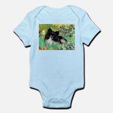 Irises / Pomeranian(bb) Infant Bodysuit