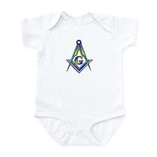 """Masonic """"Just like Pop"""" Infant Creeper"""