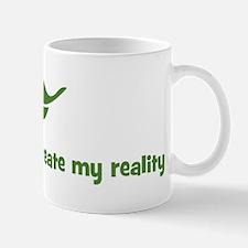My intentions create my reali Mug
