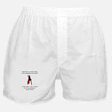 Superheroine Accountant Boxer Shorts