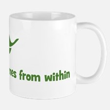 My happiness comes from withi Mug