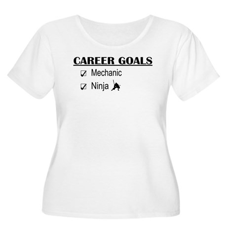 Mechanic Career Goals Women's Plus Size Scoop Neck