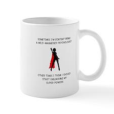 Superheroine Accountant Mug