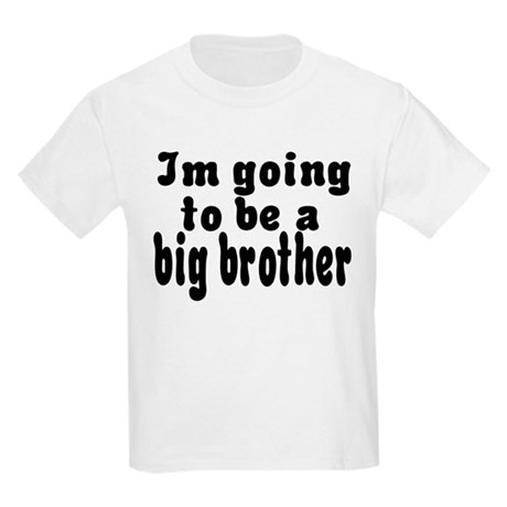 Going To Be Big Brother Kids Light T-Shirt