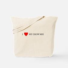 Cute Chow mix Tote Bag