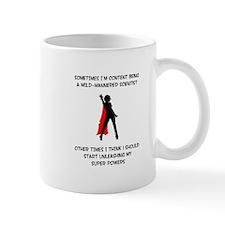 Superheroine Scientist Mug