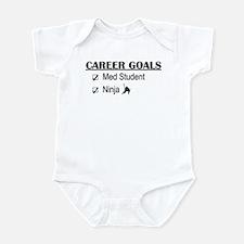 Career Goals Med Student Infant Bodysuit