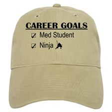 Career Goals Med Student Baseball Cap
