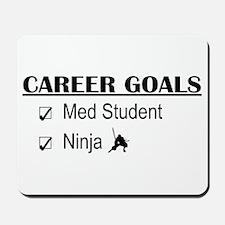 Career Goals Med Student Mousepad
