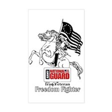 National Guard Freedom Fighter Decal