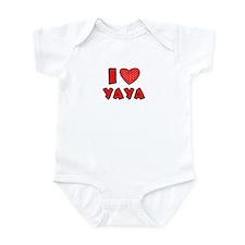 I heart YaYa  Infant Bodysuit
