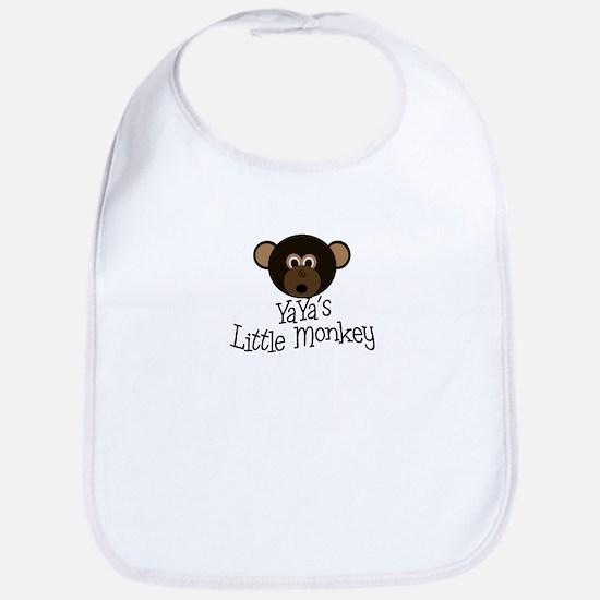 YaYa's Little Monkey BOY Bib