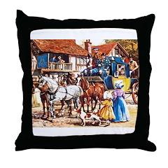 Masonic Print Throw Pillow