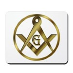 Masonic Light in a Circle Mousepad