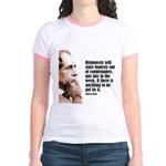 "Dickens ""Dishonesty"" Jr. Ringer T-Shirt"
