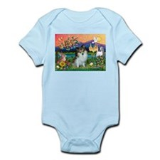 Fantasy Land /Pomeranian(s&w) Infant Bodysuit