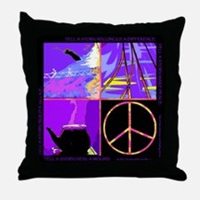 Telling Our Stories Throw Pillow