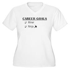 Career Goals Miner T-Shirt