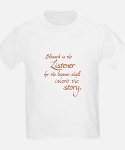Blessed Is the Listener Kids T-Shirt
