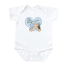 My Heart Belongs to YaYa BOY  Infant Bodysuit