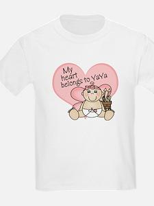 My Heart Belongs to YaYa GIRL T-Shirt