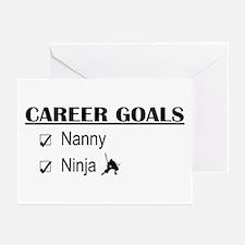 Nanny Career Goals Greeting Cards (Pk of 10)