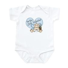YaYa's Little Valentine BOY  Infant Bodysuit