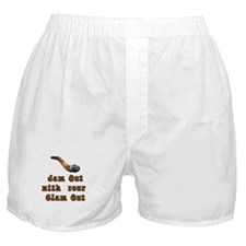 Clam Out Boxer Shorts