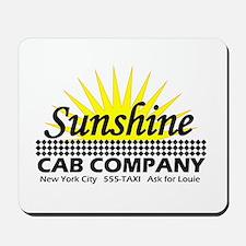 Sunshine Cab Co Mousepad