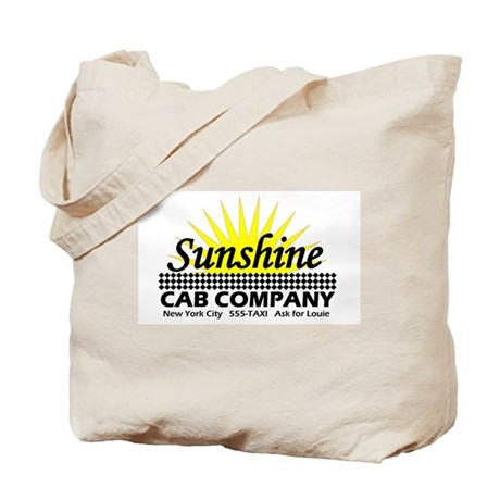 Sunshine Cab Co Tote Bag