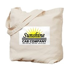 Sunshine Cab Co Tote Bag