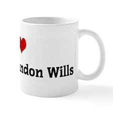 I Love Matthew Landon Wills Mug