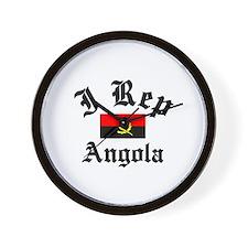 I rep Angola Wall Clock